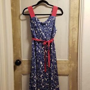 Boden tea-length dress